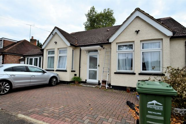 Thumbnail Detached bungalow to rent in Exeforde Avenue, Ashford
