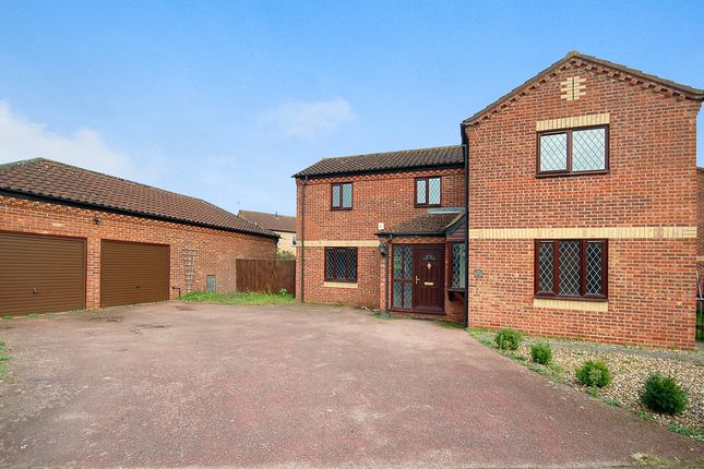 Thumbnail Detached house for sale in Mallow Road, Thetford