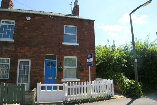 Thumbnail Terraced house to rent in High Street, Retford