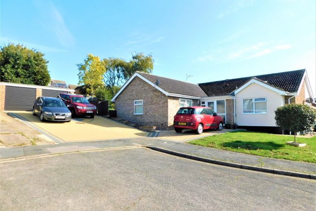 Detached bungalow for sale in Millfield Avenue, Stowmarket