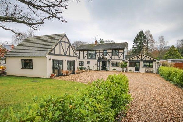 Thumbnail Detached house to rent in Ash Road, Fox Corner, Worplesdon GU24,