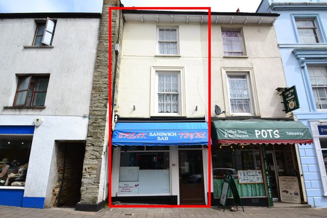 Thumbnail Restaurant/cafe for sale in Fore Street, Bodmin