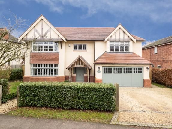Thumbnail Detached house for sale in Keyworth Road, Wysall, Nottingham