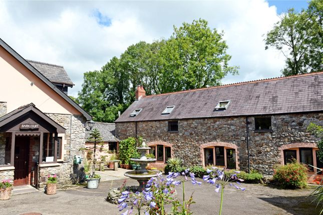 Thumbnail Detached house for sale in Barn Court, Templeton, Narberth, Pembrokeshire