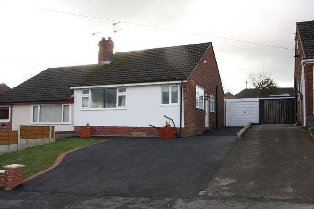 Thumbnail Semi-detached bungalow for sale in Tidnock Avenue, Congleton