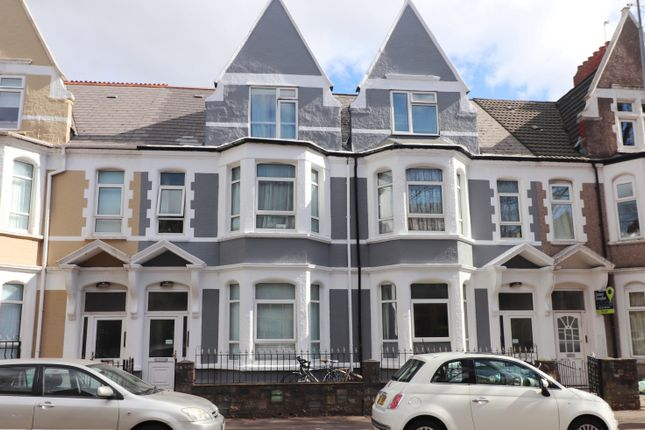 Thumbnail Terraced house for sale in Marlborough Road, Roath, Cardiff