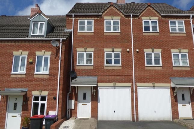 Thumbnail Terraced house for sale in Churchward Drive, Newdale, Telford