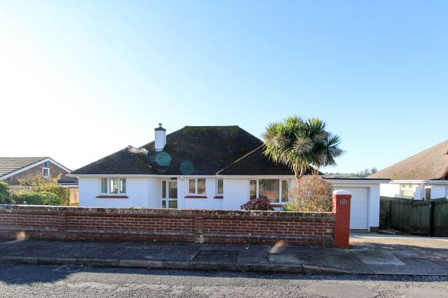 Thumbnail Detached bungalow for sale in Thorne Park Road, Chelston, Torquay