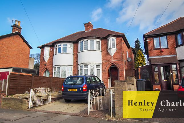 Thumbnail Semi-detached house for sale in Short Heath Road, Erdington, Birmingham