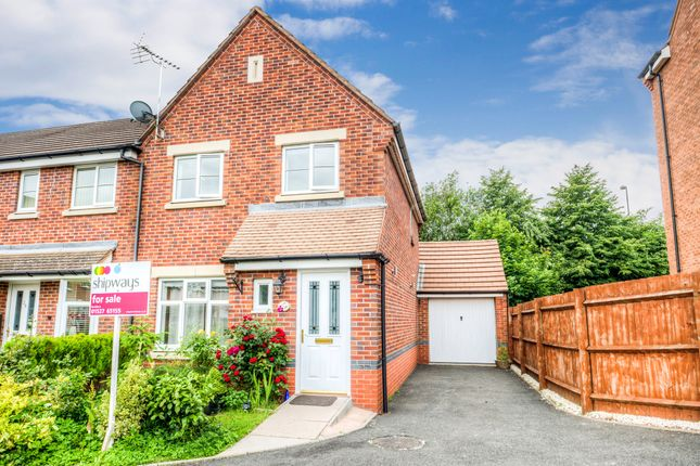 Thumbnail End terrace house for sale in Britannia Close, Smallwood, Redditch