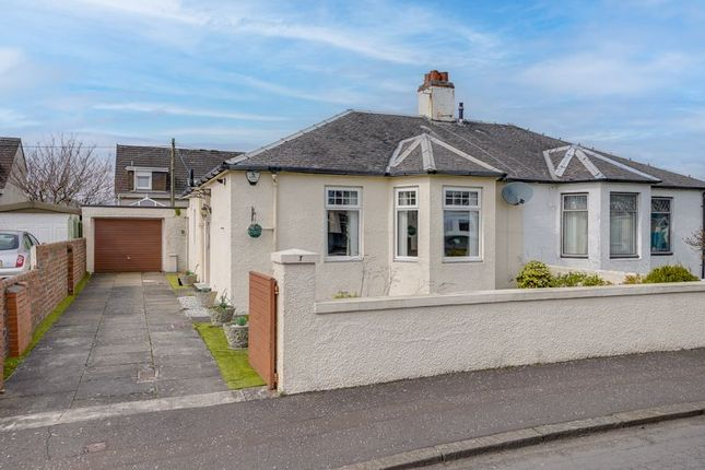 Thumbnail Semi-detached bungalow for sale in 7 Moor Road, Ayr