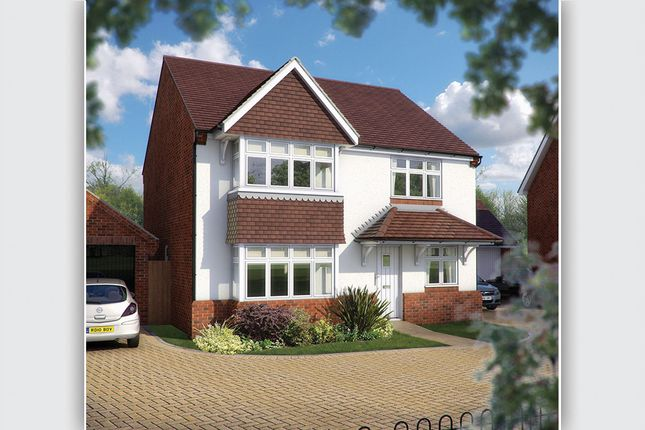 "Thumbnail Detached house for sale in ""The Canterbury"" at Station Road, Long Buckby, Northampton"
