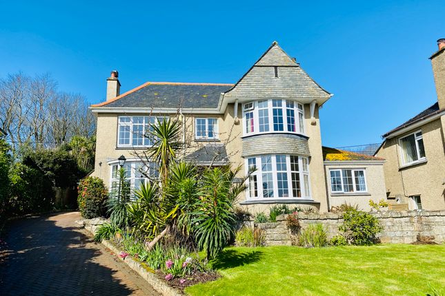 Thumbnail Detached house for sale in Lariggan Crescent, Penzance