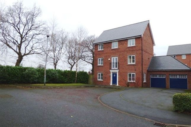 Thumbnail Detached house to rent in Millington Gardens, Lymm, Cheshire