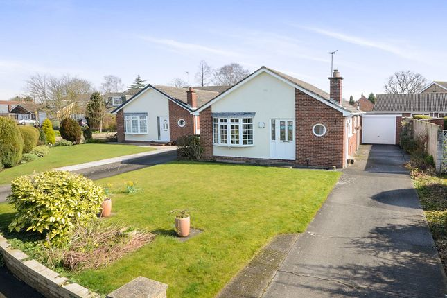 Thumbnail Bungalow for sale in Stablers Walk, Earswick, York