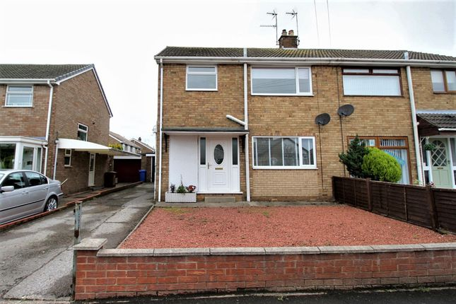 Thumbnail Semi-detached house for sale in Church Crescent, Hull