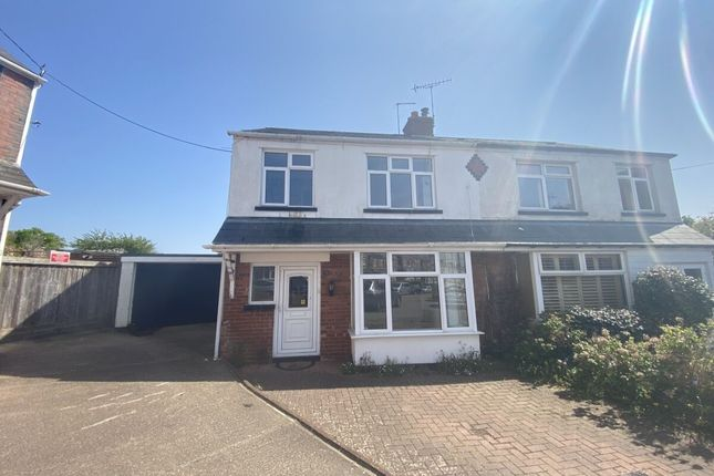 Thumbnail Semi-detached house to rent in Brooklands Road, Exmouth