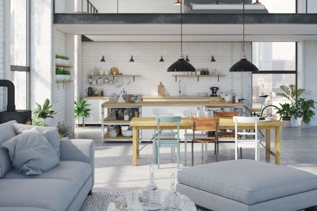 Thumbnail Flat for sale in Hi Rise Penthouse, Jackson St, Manchester