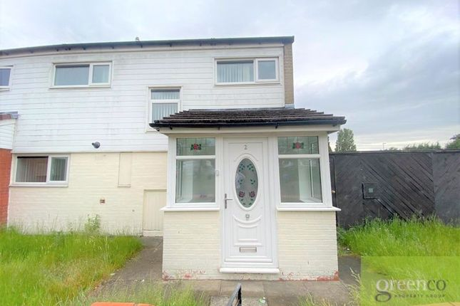 Thumbnail Semi-detached house to rent in Shaftesbury Avenue, Kirkby, Liverpool