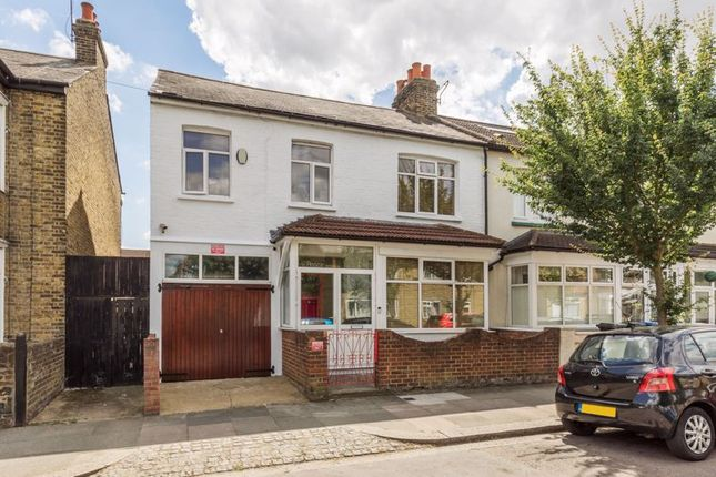 Thumbnail End terrace house to rent in King Edwards Road, London