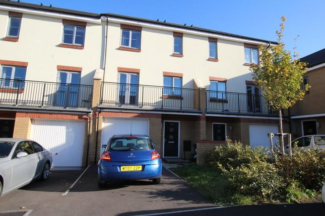 Thumbnail Town house to rent in Sorrel Place, Stoke Gifford, Bristol
