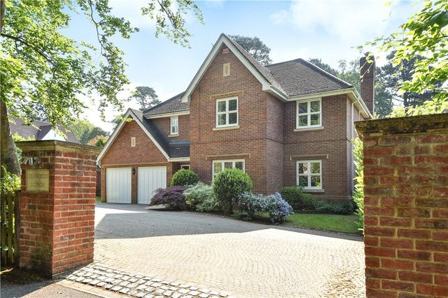 Thumbnail Detached house for sale in Kingsley Avenue, Camberley, Surrey