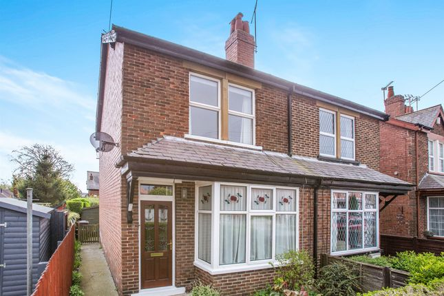 3 bed semi-detached house for sale in Torrs Road, Harrogate