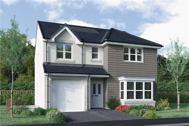 "Thumbnail Detached house for sale in ""Fletcher"" at East Calder, Livingston"