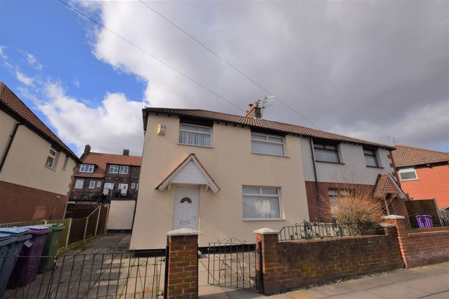 Thumbnail Semi-detached house to rent in Graylands Road, Walton, Liverpool