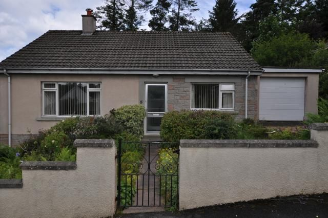Thumbnail Bungalow for sale in 3 Sanquar Drive, Forres