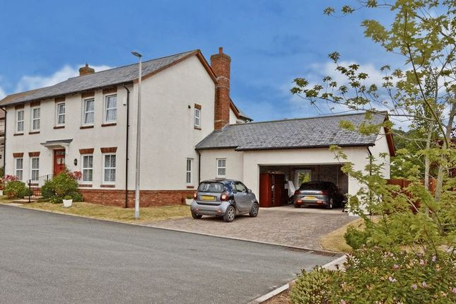 Thumbnail Detached house for sale in Great Park Close, Bishopsteignton, Teignmouth.
