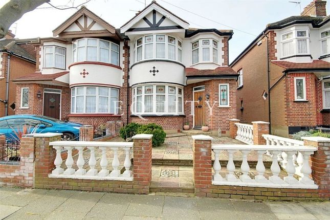 Thumbnail Semi-detached house for sale in Brendon Way, Enfield