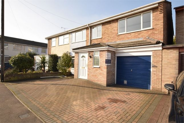 Thumbnail Semi-detached house for sale in Sweet Briar Road, Stanway, Colchester, Essex
