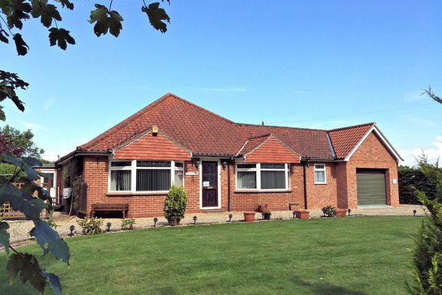 Thumbnail Detached bungalow to rent in Elmham Road, Beetley, Dereham