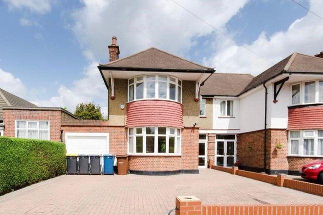 Thumbnail Semi-detached house to rent in Farm Avenue, Harrow