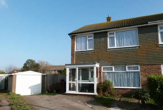 Thumbnail Semi-detached house for sale in Wellington Gardens, Selsey, Chichester