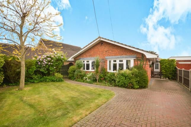 Thumbnail Bungalow for sale in St. Andrews Road, Littlestone, New Romney, Kent