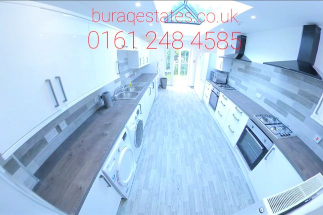 Thumbnail Detached house to rent in Wellington Road, Fallowfield, Manchester