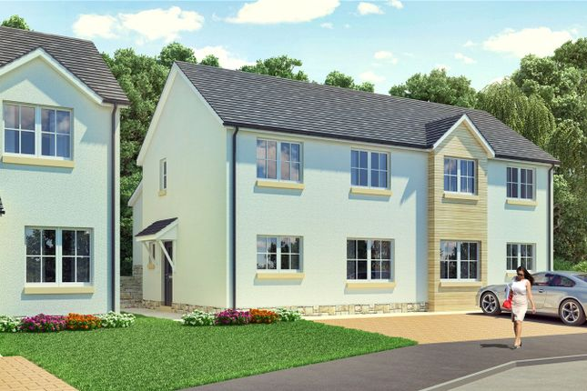 Thumbnail Semi-detached house for sale in The Johnson, Plot 76, Hayfield Brae, Methven, Perth