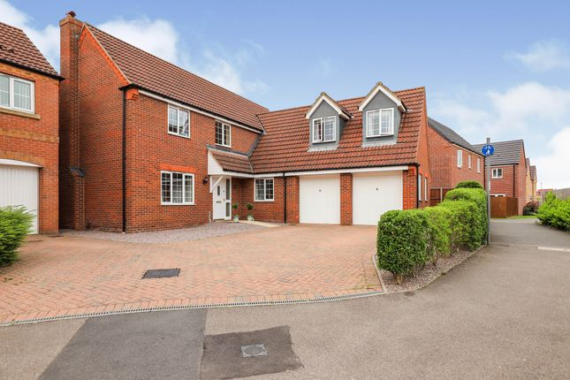 Thumbnail Detached house for sale in Tointon Close, Spalding