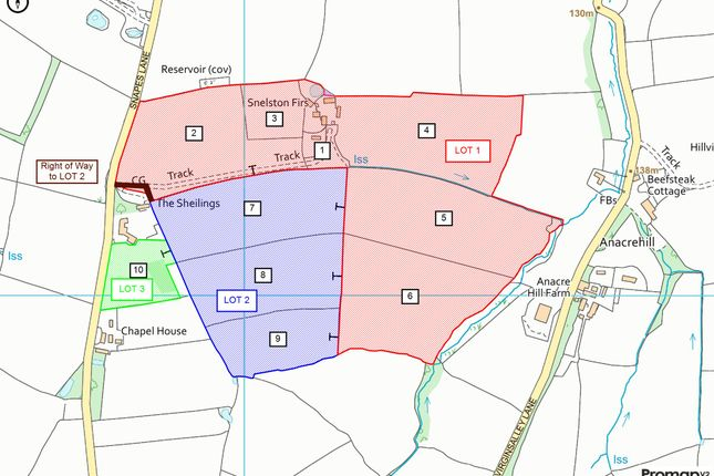 Promap Plan of Snelston, Ashbourne DE6