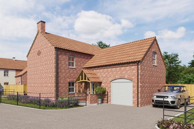 Thumbnail Detached house for sale in Plot B Callow Grove, Top Street, North Wheatley, Retford