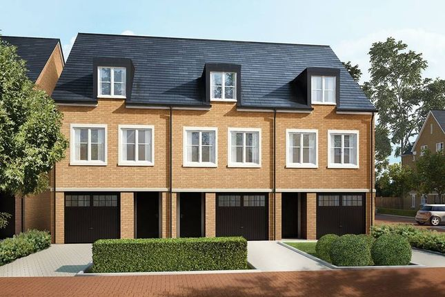 "Thumbnail Terraced house for sale in ""The Eton"" at Wick Road, Englefield Green, Egham"