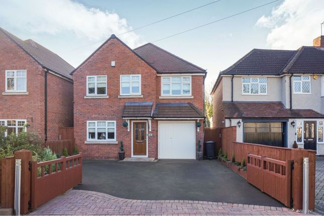 Thumbnail Detached house for sale in Delrene Road, Solihull