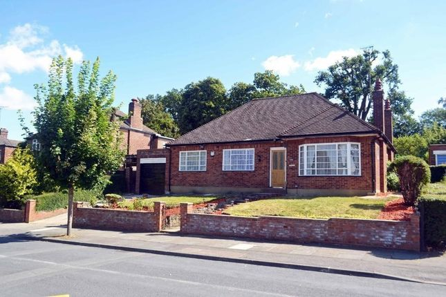 Thumbnail Detached bungalow to rent in Bellmount Wood Avenue, Watford
