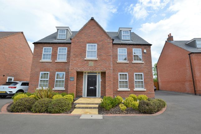 Thumbnail Detached house for sale in Polyantha Square, Rearsby, Leicester