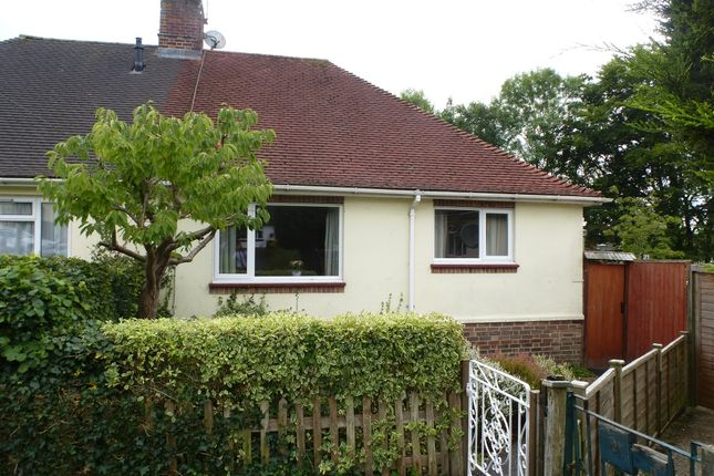 Thumbnail Semi-detached bungalow for sale in Scotland Close, Fair Oak, Eastleigh