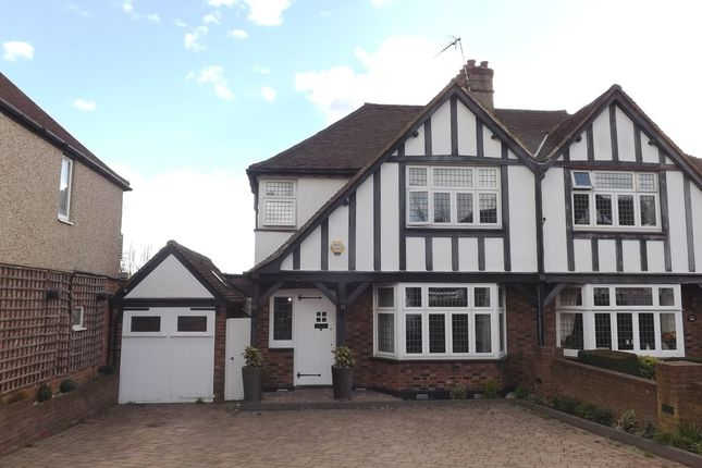 Thumbnail Semi-detached house for sale in Parkside Drive, Edgware