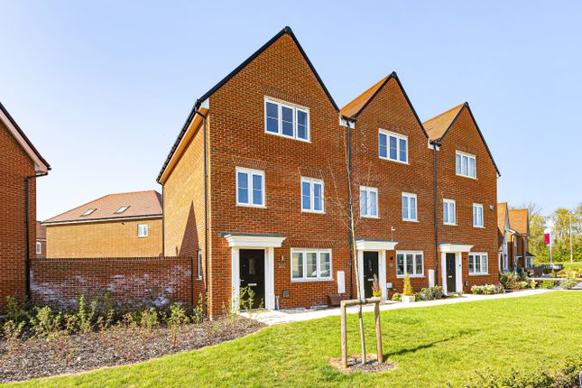 Thumbnail End terrace house for sale in Whiteley Way, Curbridge, Southampton