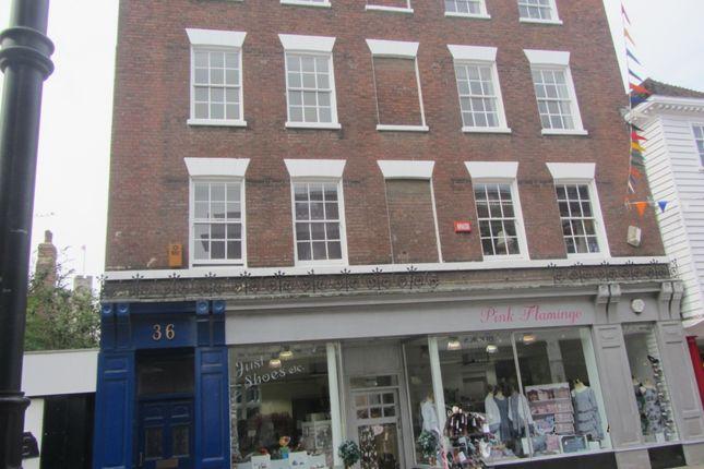 Thumbnail Flat to rent in High Street, Rochester, Kent